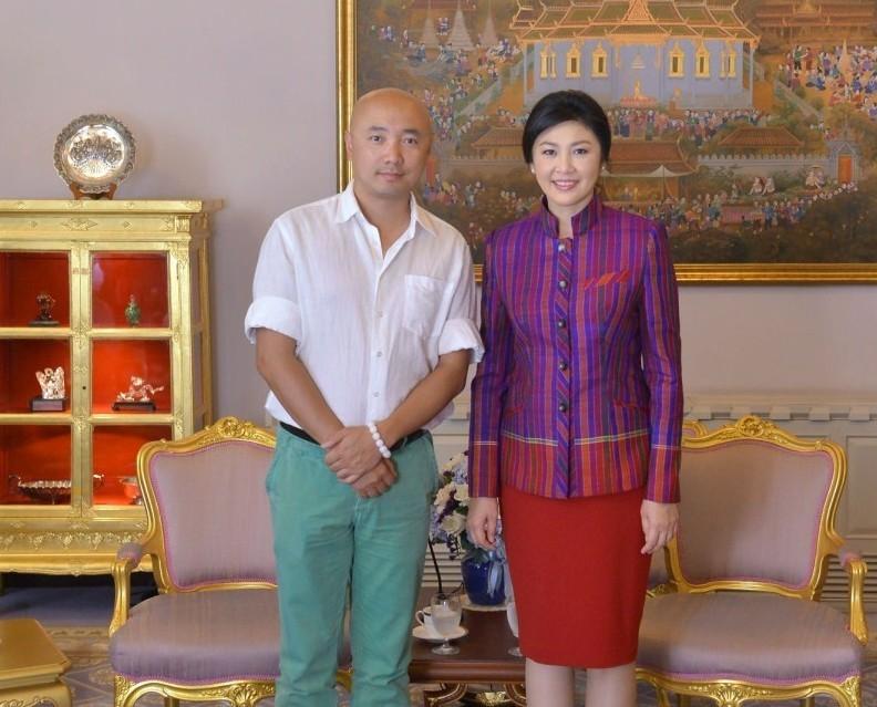 泰美女总理接见徐峥,眼神如同见到奥巴马(组图) - 遇果林 - 遇果林-原生态博客