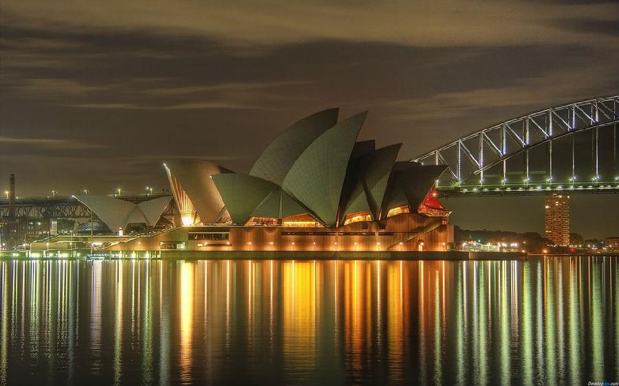 音乐厅是悉尼歌剧院最大的厅堂