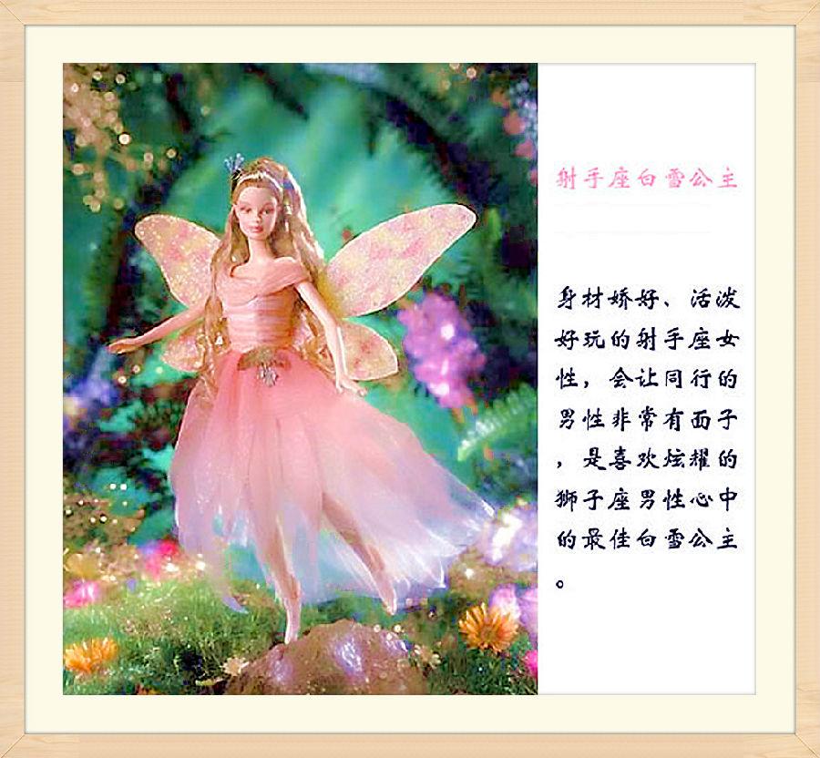 十二星座芭比娃娃精美图片欣赏