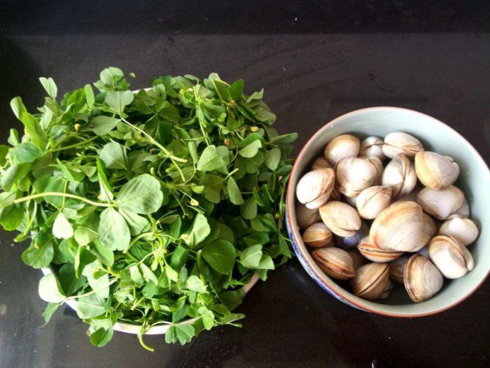 接地气的家乡菜--草头白蛤汤 - 慢美食博客 - 慢美食博客