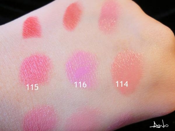 9款唇膏试色 选择适合自己的 - 橙anko - Anko