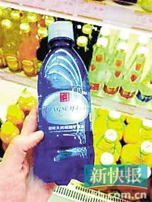【二维码行业新闻】朝鲜进口矿泉水青岛卖10元一瓶