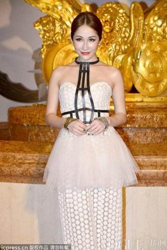 范冰冰蔡依林李宇春抢镜华语明星最佳着装 - VOGUE时尚网 - VOGUE时尚网