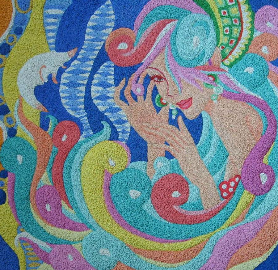 纸浆葫芦模型彩绘图案