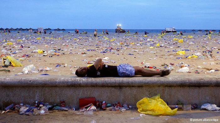 """和海洋垃圾""""作战"""""""