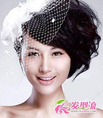 2013最新新娘短发发型汇总