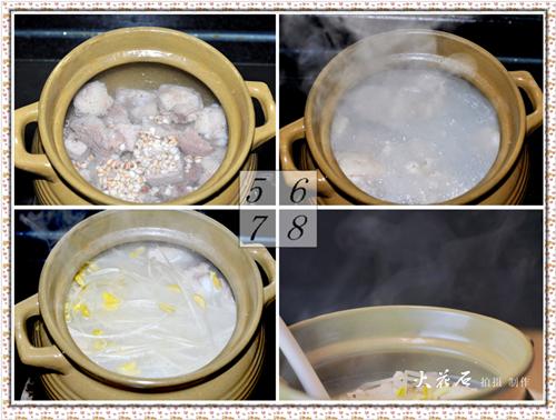 祛斑除湿的美容汤——豆芽薏仁排骨汤 - 浓情美食客 - 浓情美食客