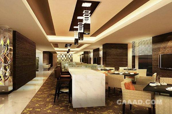 餐厅餐馆设计地板选用什么材料好