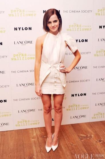 艾玛·沃特森23岁生日 最佳红毯造型集锦 - VOGUE时尚网 - VOGUE时尚网
