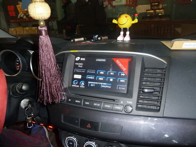 三菱翼神升级飞歌专用车载dvd导航_车载导航升级_倒车影像