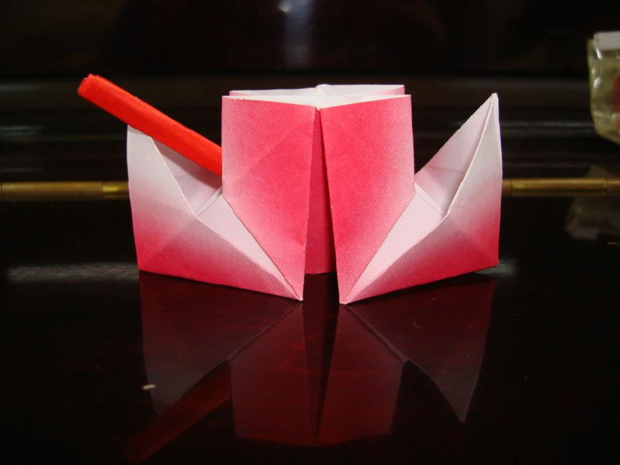 手工香包制作步骤z折纸