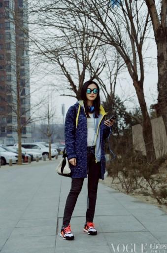 姚晨杨幂张雨绮柳岩早春街拍搭配示范 - VOGUE时尚网 - VOGUE时尚网