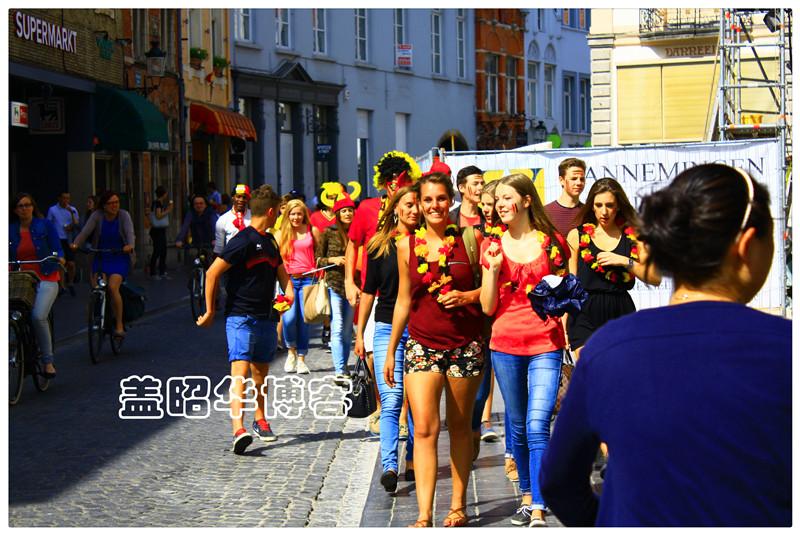 毁三观的比利时球迷聚会 - 盖昭华 - 盖昭华的博客