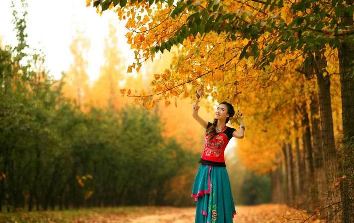 我爱秋天 - 白雪 - 雪之吻