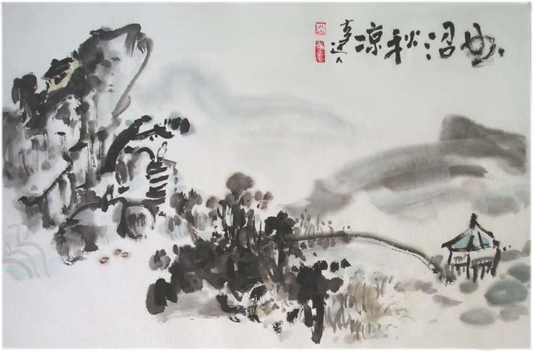 蜕心堂存墨——江南达者童山雷中国画选 OkpWzPpoZLk