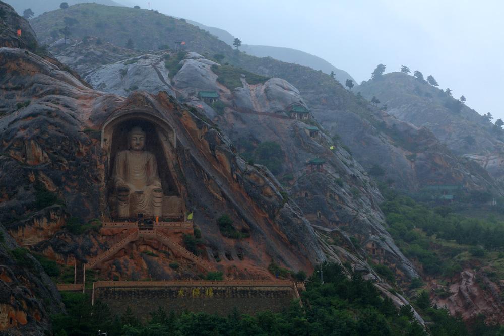 宁夏固原:雨中的须弥世界 - 余昌国 - 我的博客