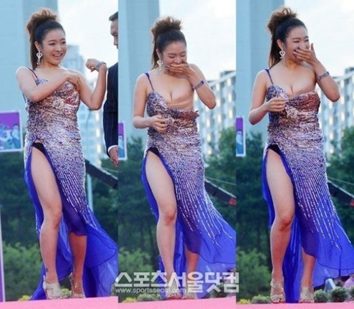 韩红毯走光露点女星竟酷似嫩版巩俐(组图) - 对酒当歌 - 对酒当歌网易博客