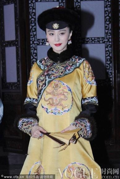 范冰冰金锁16年逆袭扮皇后 - VOGUE时尚网 - VOGUE时尚网