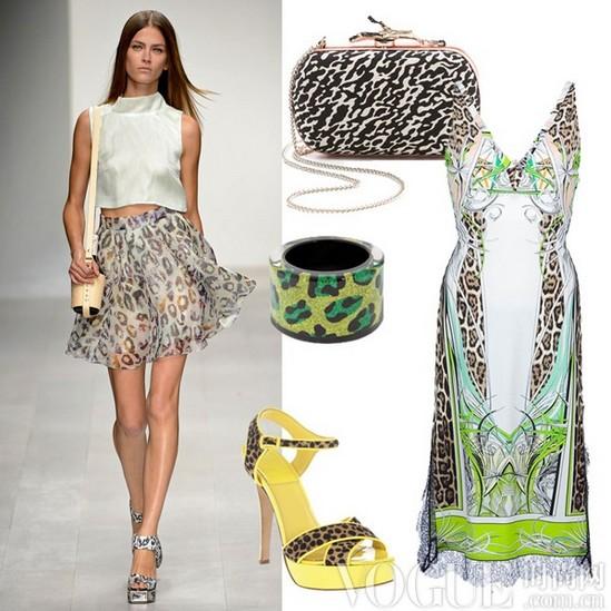 百变豹纹装 4式风格搭配 - VOGUE时尚网 - VOGUE时尚网