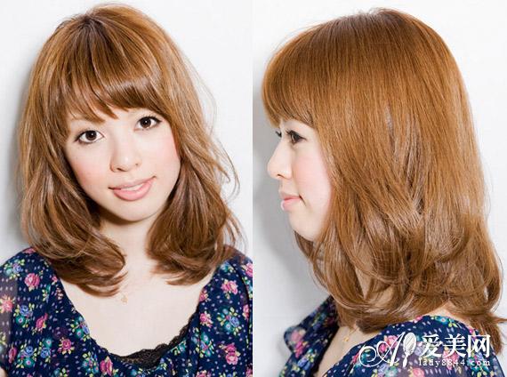 清新棕色头发推荐图片
