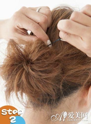 扎头发的方法图解