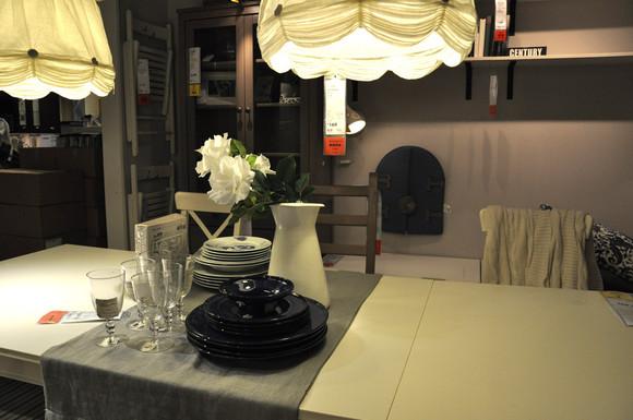 宜家美式厨房+餐厅 带多功能岛台