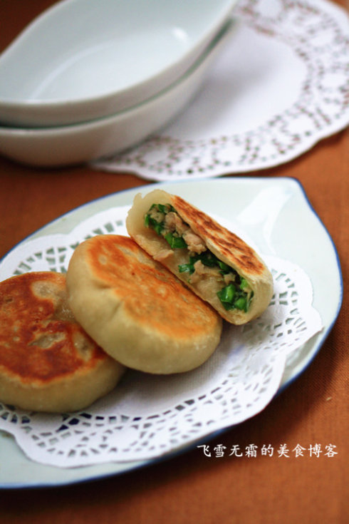 肉末韭菜烙饼 - shengge - 我的博客