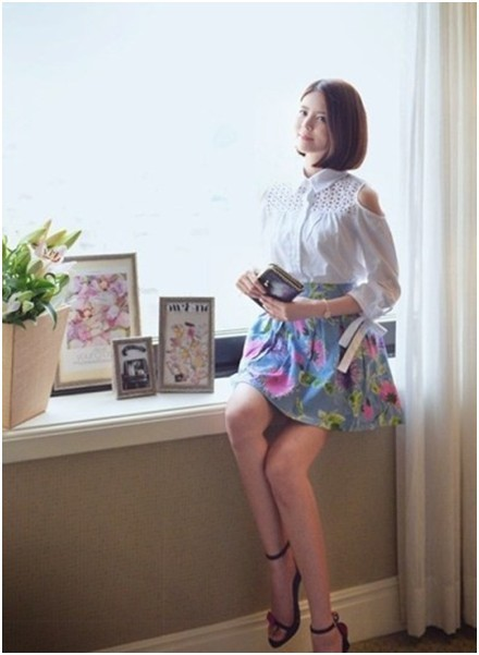微露香肩  撩逗夏末女人香   - 菲碧公主 - 摄氏39C°的爱情