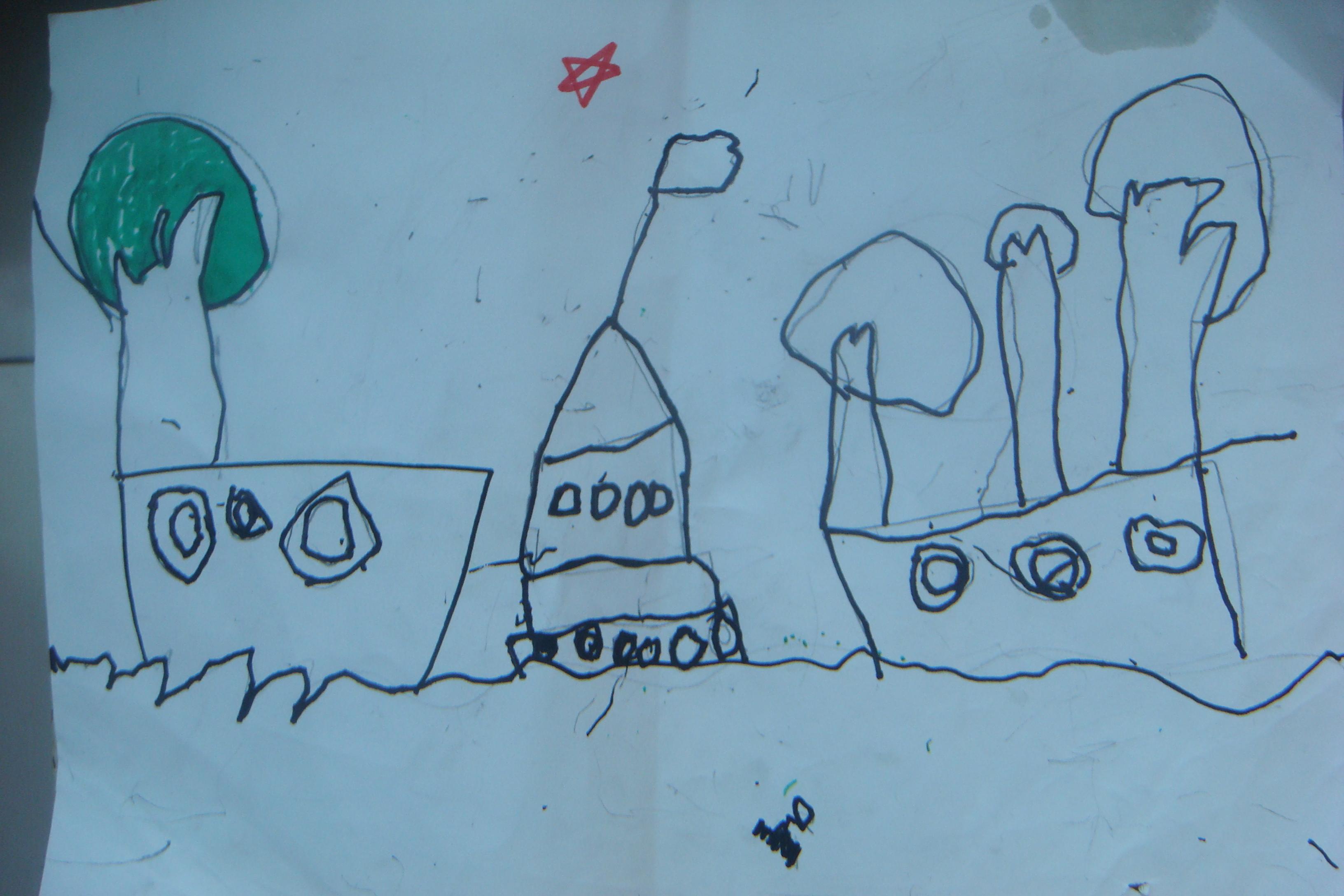 儿童画 简笔画 手绘 线稿 3264_2176