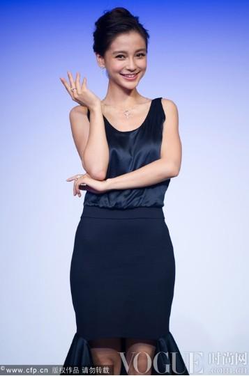 Angelababy精致盘发高贵复古 - VOGUE时尚网 - VOGUE时尚网