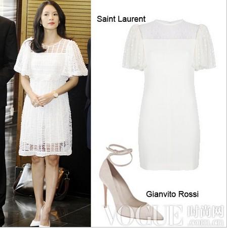 夏季白色着装心机指南 - VOGUE时尚网 - VOGUE时尚网