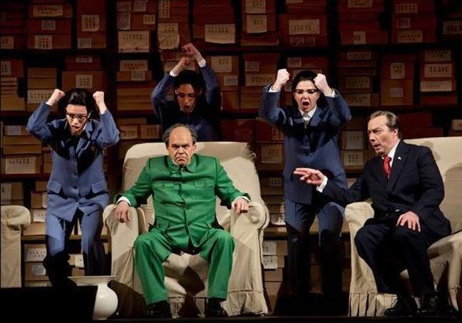 美国话剧《毛主席会见尼克松》(组图) - 遇果林 - 遇果林-原生态博客