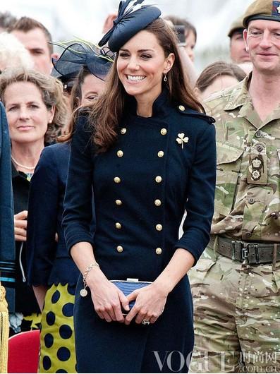 凯特王妃珠宝加身的闪耀时刻 - VOGUE时尚网 - VOGUE时尚网