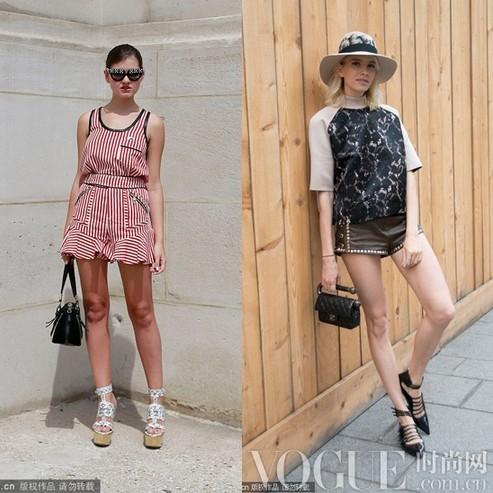 潮人示范实用夏装搭配 - VOGUE时尚网 - VOGUE时尚网