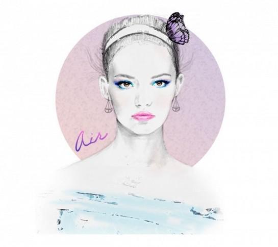 4大星象最适合的彩妆造型 - VOGUE时尚网 - VOGUE时尚网