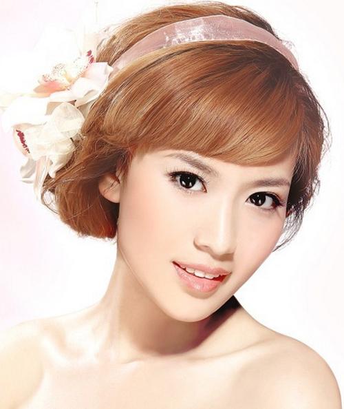 吴江婚纱摄影-鲜花打造浪漫新娘造型