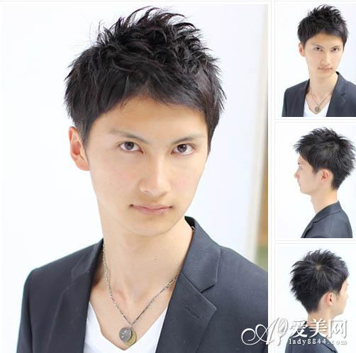 超级帅气的潮男短发发型
