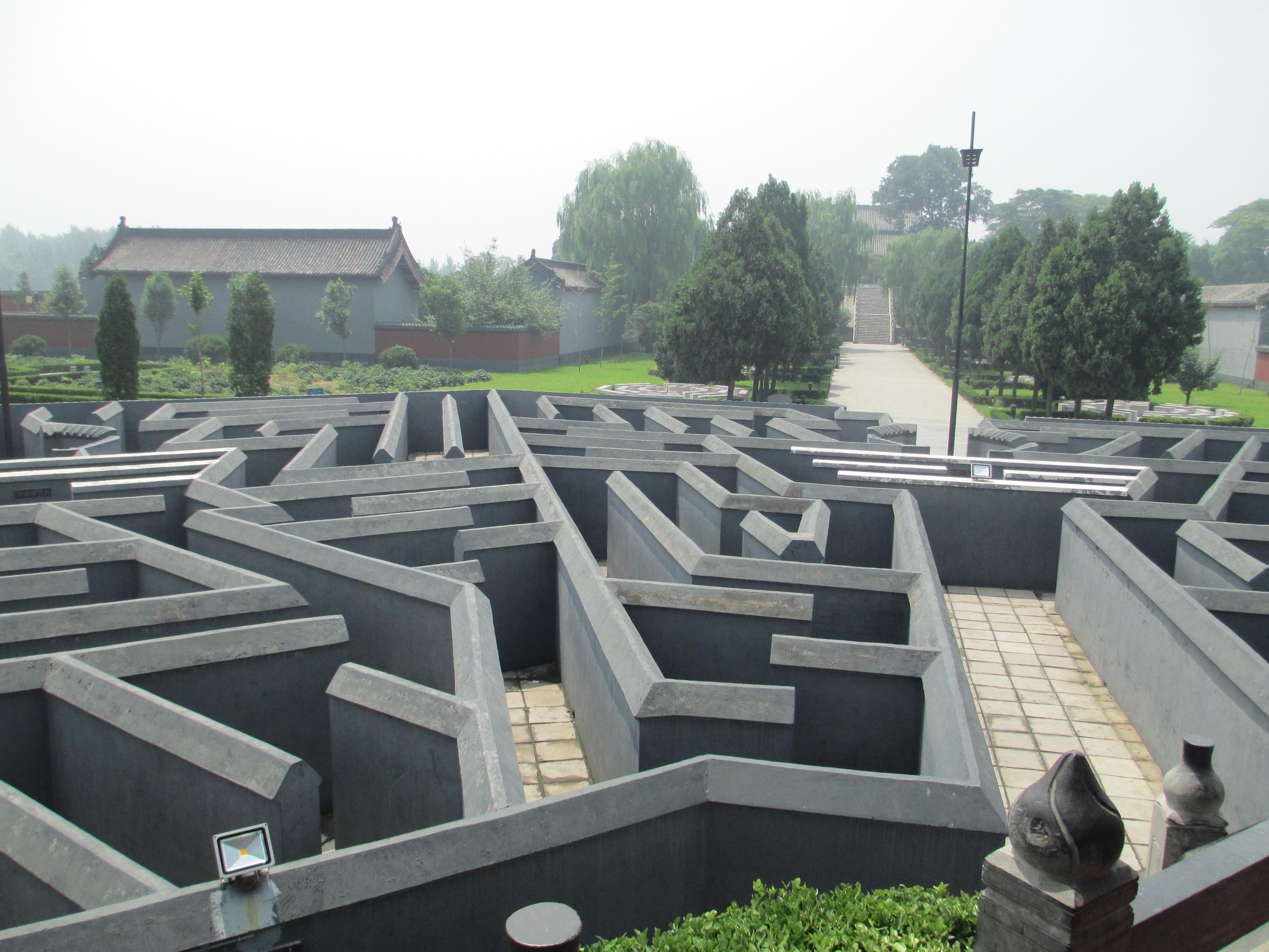 迷宫一般的八卦阵图片