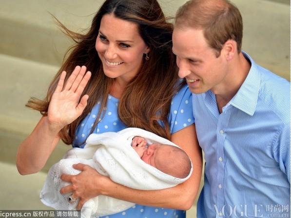 威廉王子夫妇携新生儿亮相 - VOGUE时尚网 - VOGUE时尚网