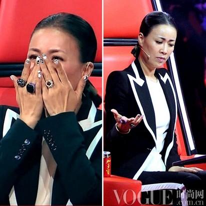 中国好配饰女星导师珠宝盘点 - VOGUE时尚网 - VOGUE时尚网