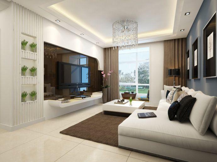 现代简约客厅装修效果图&nbsp