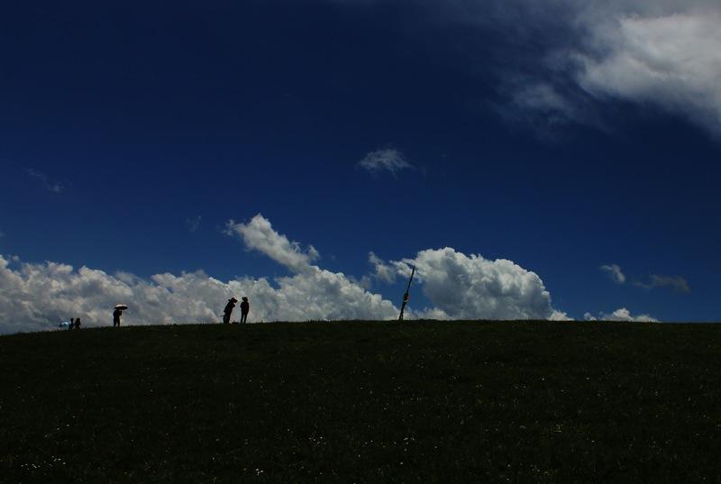 花海鸳鸯——高山湿地中的湖泊 - H哥 - H哥的博客