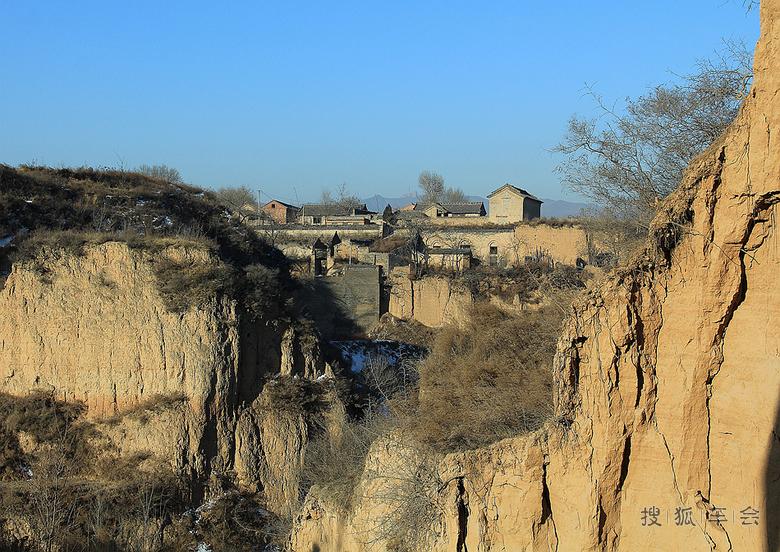 壶关县东桥古村落图片