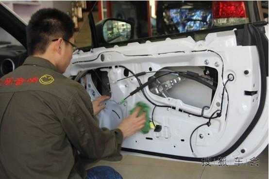 斯巴鲁brz汽车音响升级 音响改装 全车大能隔音降噪