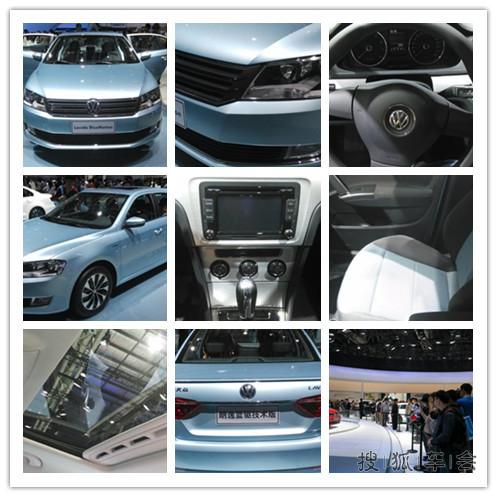 车型一样,重新设计了进气格栅造型,线条优美,大众vw车标明显高清图片
