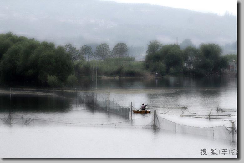 安阳彰武水库水墨篇  彰武南海国家水利风景区位于中国七大古都之一