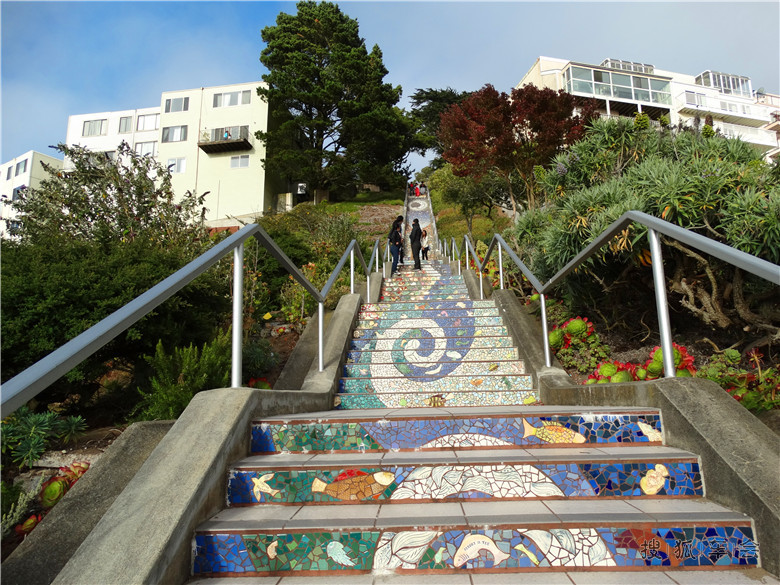 手工铺砌,耗费了2000个手工制作的瓷砖与75000块瓷砖碎片,镜片与彩色