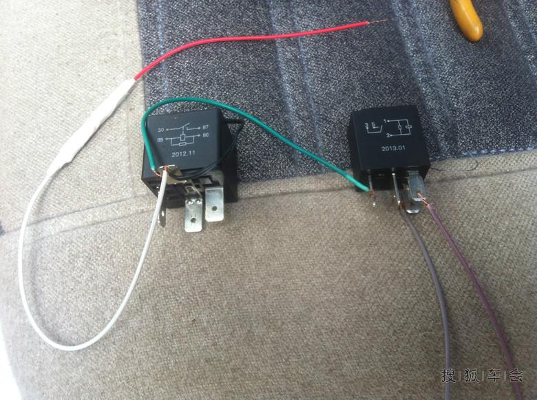 电路简单改装,实现车窗供电控制