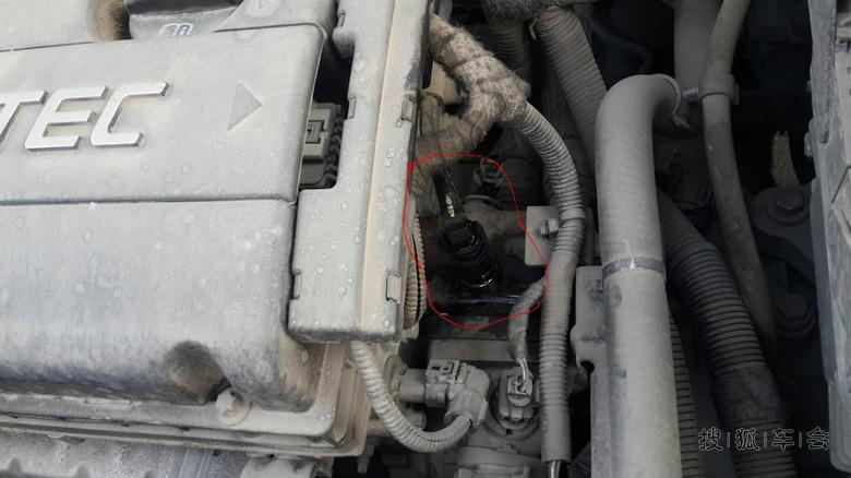 科鲁兹 水箱细水管+助力转向油!