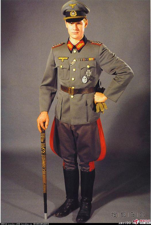 二战纳粹德国国防军陆军军装